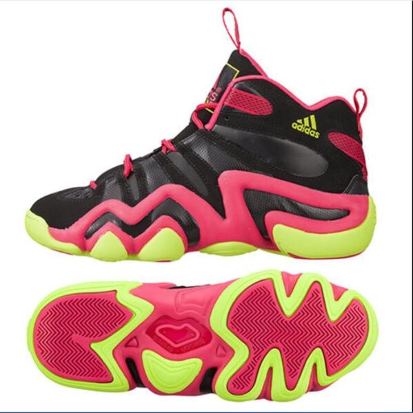 RARE~Adidas PERFORMANCE CRAZY 8 MOTHERS DAY 1 Basketball light Shoe~Mens size 9