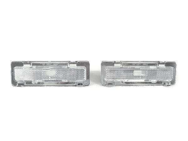 DEPO Clear Front Bumper Side Marker Lights For 1985-1992 Chevy Chevrolet Camaro