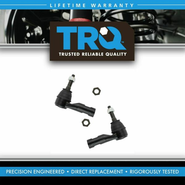 Front Steering Outer Tie Rod End Pair LH & RH Sides for Ram 1500 Truck New