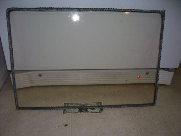Rusco wood stove door 9×13 replacement high heat ceramic glass 3 16th thick $85.00