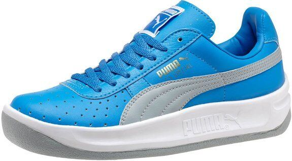 New Puma GV Special Jr French Blue Dust Gray Boys Kids Sneakers Sizes