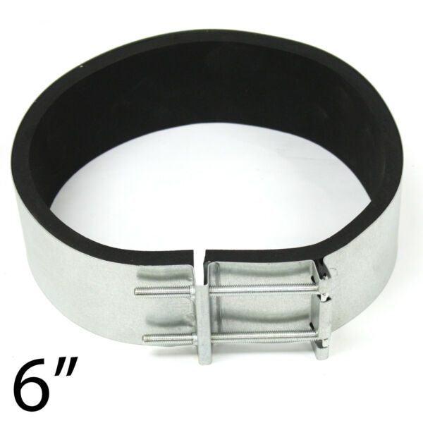 6quot; Noise Reduction Clamp Vibration Reducer for Fan Silencers Carbon Filters $15.99