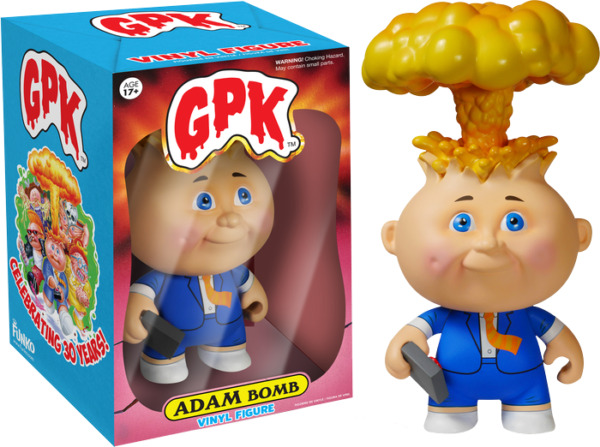 Premium Vinyl Collectables--Garbage Pail Kids - Adam Bomb 6