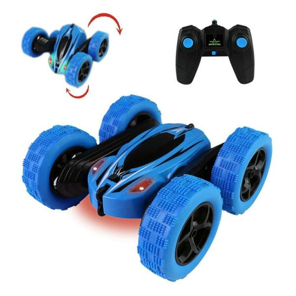 Remote Control RC Stunt Car 4WD Double Sided Rotating Tumbling Rock Crawler Gift