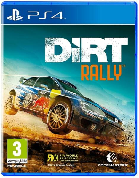 Dirt Rally PS4 Sony PlayStation 4 Brand New Sealed Racing Game $27.99