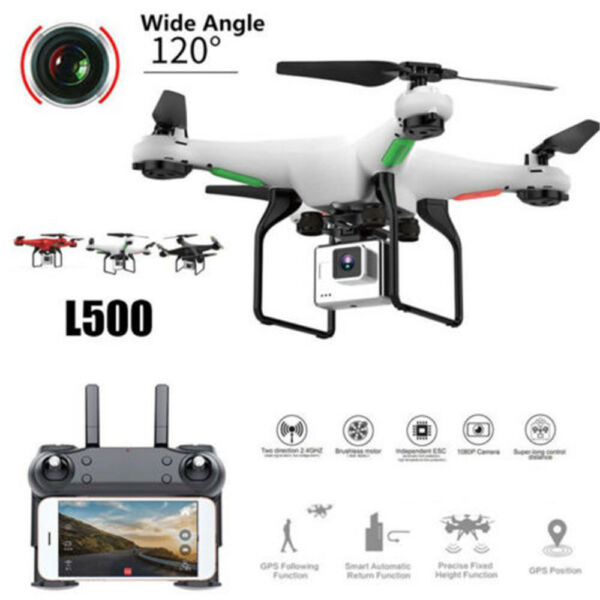 Professional Drone 0.3MP HD Camera WiFi FPV Live 2.4GHz Helicopter Quadcopter