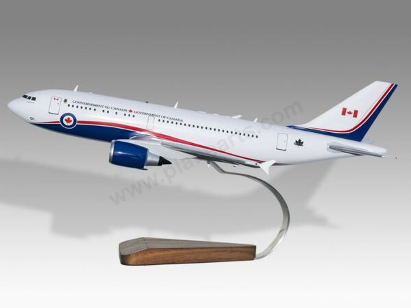 Airbus A310 RCAF Canadian Air Force One 1 Custom Made Solid Mahogany Wood Model