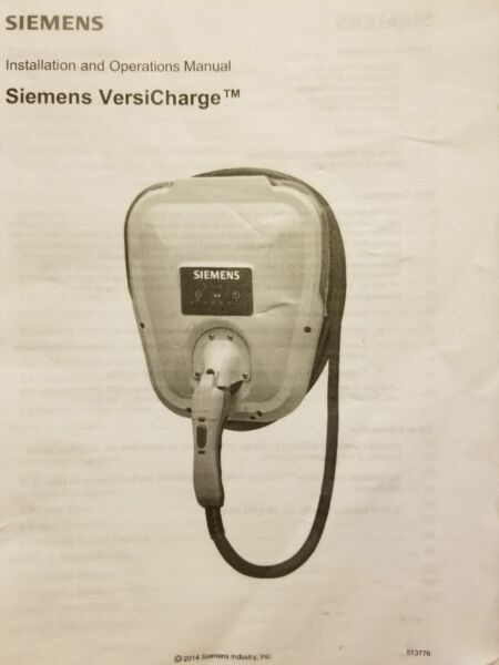 Siemens VersiCharge electric vehicle charger