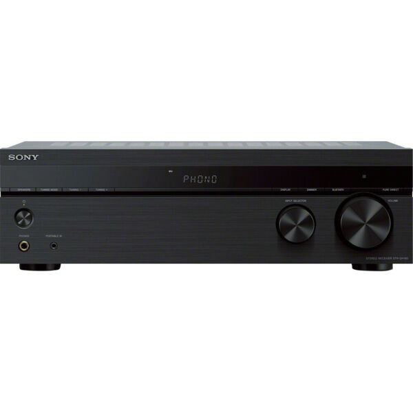 Sony STRDH190 2-Ch Stereo Receiver with Phono Inputs and Bluetooth (2018 Model)