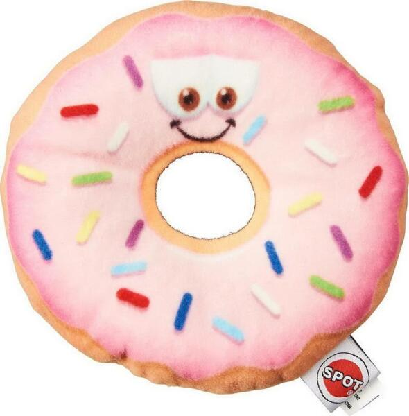 ETHICAL SPOT ULTRA SOFT PLUSH FUN DONUT RING 5.25
