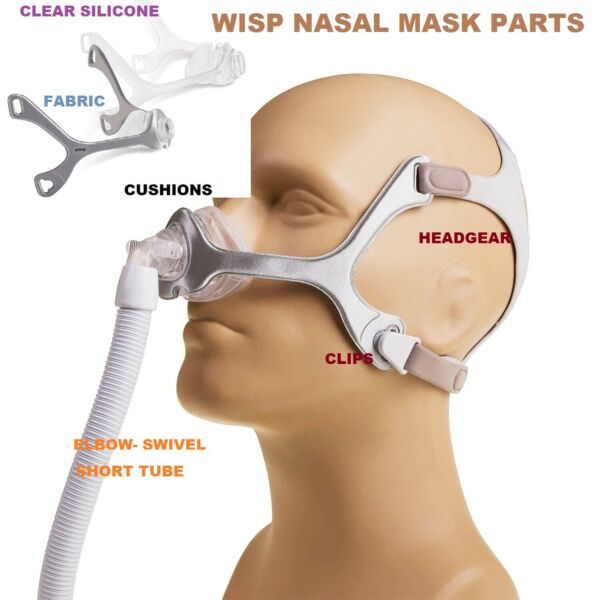 Philips Respironics Wisp Nasal  Mask Parts Replacements Brand new