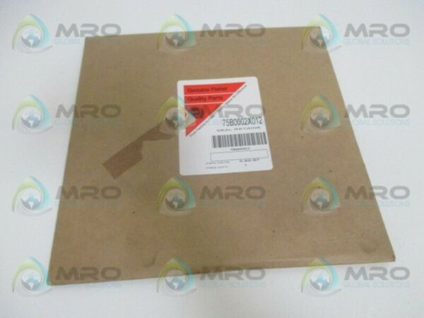 FISHER 75B0002X012 RETAINE SEAL *NEW IN ORIGINAL PACKAGE*