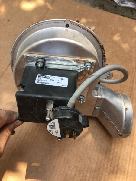 Combustion Blower motor Coleman Furnace model TG8S060A12MP11A $179.00