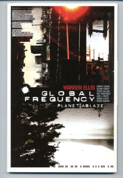 Global Frequency: Planet Ablaze    Warren Ellis   TPB   2004