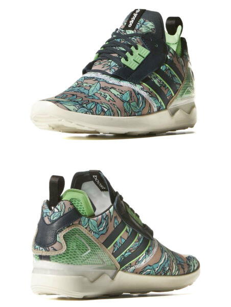 NIB~Adidas ZX 8000 BOOST AOP Running gym Energy flux Shoe Supernova~Mens size 9