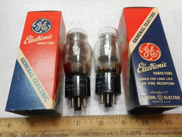 NOS GE OC3 10530 Tube - Matching Date Codes - Lot of 2 TUBES TESTED STRONG 539A