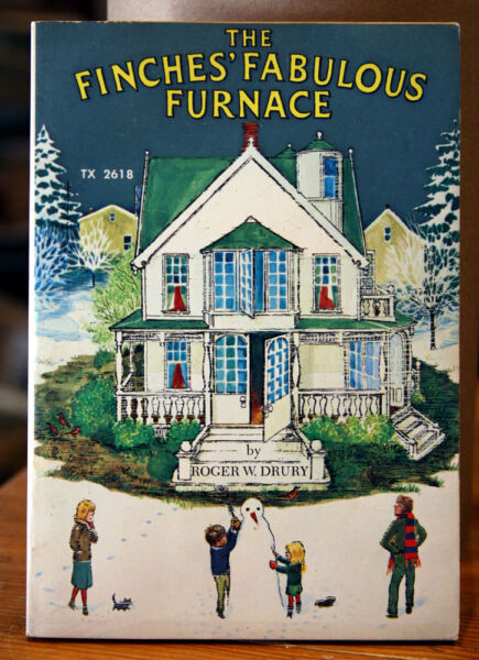 The Finches#x27; Fabulous Furnace by Roger W. Drury 1974 Scholastic Paperback 1st $9.99