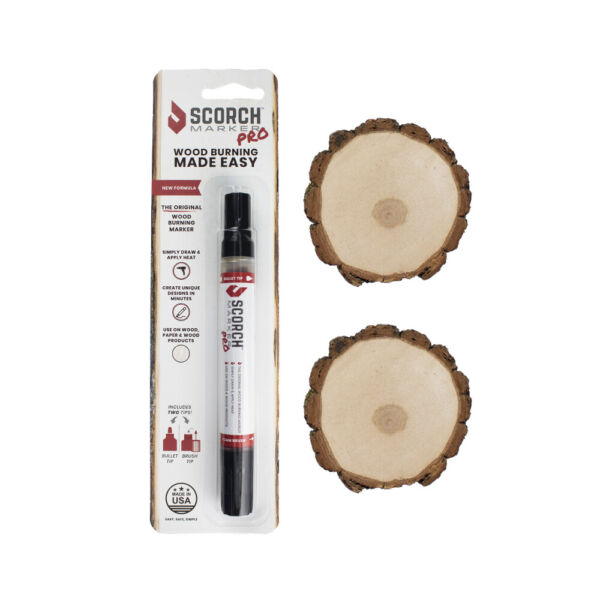 Scorch Marker - Original Wood Burning Marker - Perfect for easy DIY wood burning
