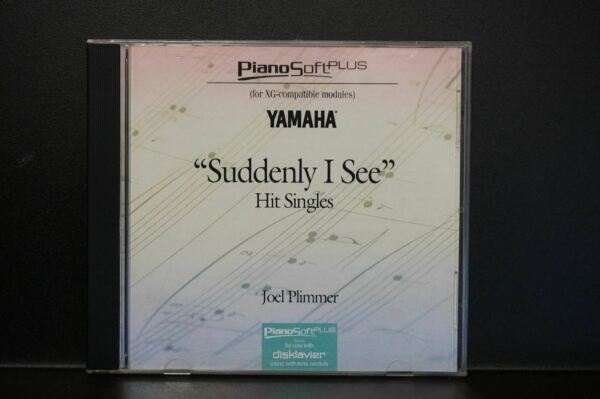 Yamaha Disklavier Piano Soft Plus Suddenly I See 3.5 inch floppy disk  $24.99