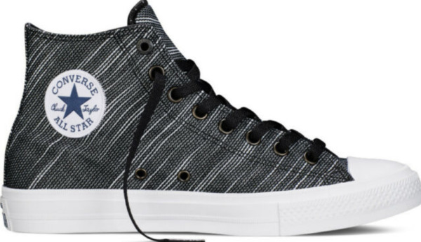 New Converse Chuck Taylor All Star II 151087C Black SNEAKERS High Knit
