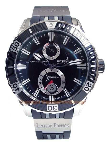 ULYSSE NARDIN Marine Diver Hispania Limited 50pcs Steel Gents Watch 263-10LE-3