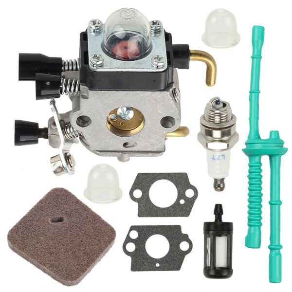 Carburetor kit For STIHL Zama FS38 FS45 FS46 FS55 FS55R KM55 4140 120 0619 $12.99