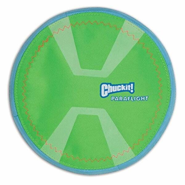 1- CHUCKIT MAX GLOW PARAFLIGHT PARA FLIGHT LARGE 9.75
