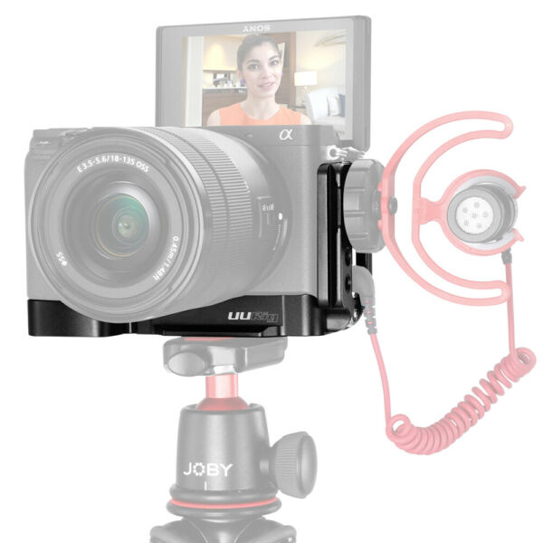 Vlog L Type Quick Release Plate Microphone Stand UURig R006 For SONY A6400 Vlog