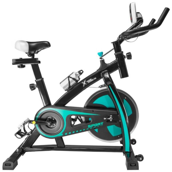 Pro Stationary Exercise Fitness Bike Indoor Cardio Cycle Bicycle Water Bottle $169.95