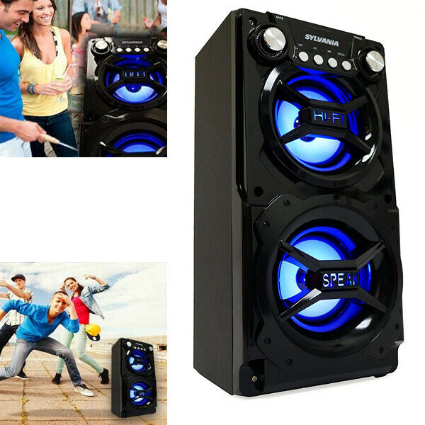 Bluetooth Speaker For Party Outdoor Indoor Large Portable Rechargeable Audio USB $59.99