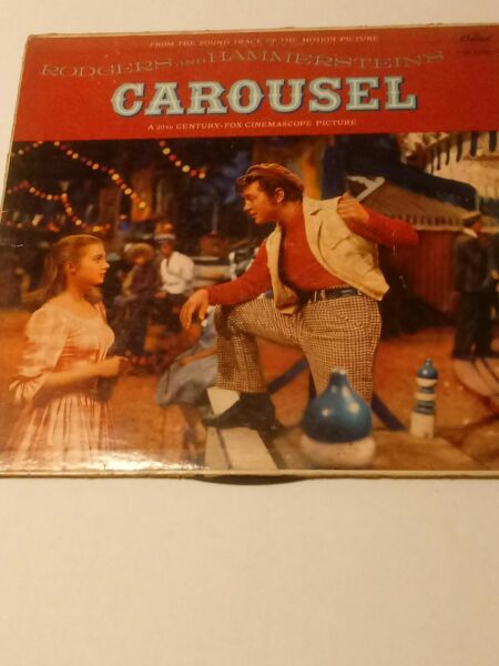Carousel Rodgers And Hammersteins by Capitol Records vinyl record
