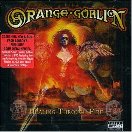 Orange Goblin Healing Through Fire new sealed CDDVD 2007 Mayan rock metal doom