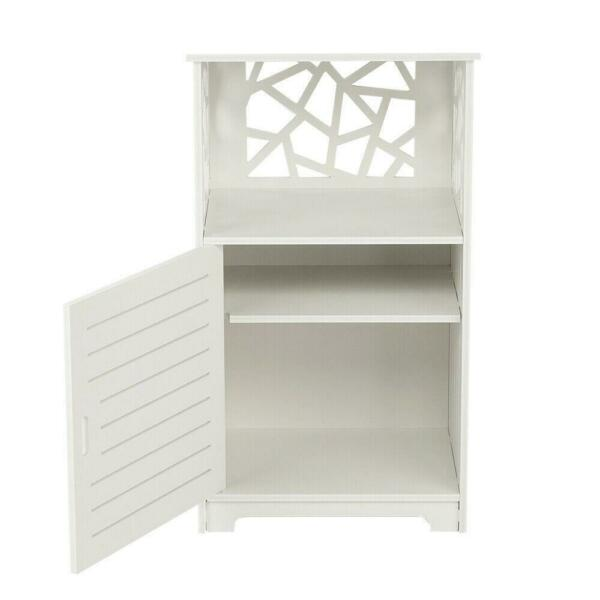 Nightstand Bedside End Table Bedroom Side Accent Modern Storage Drawers White US