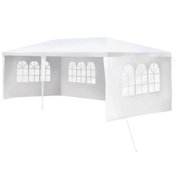 10#x27;x20#x27; Outdoor Canopy Party Wedding Tent Garden Gazebo Pavilion Cater Events 4