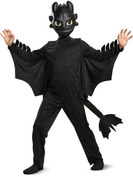Child's Classic How To Train Your Dragon 3 Toothless Costume