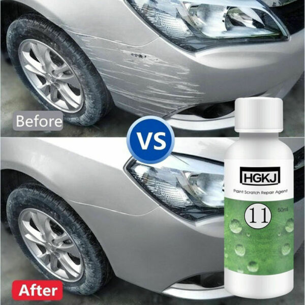 1*20ml HGKJ Car Paint Scratch Repair Remover Agent Coating Maintenance Accessory