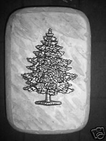 Christmas tree brick mold concrete plaster mold 9