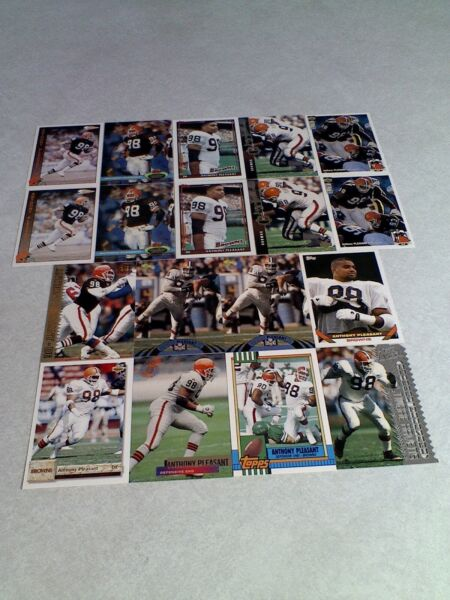 *****Anthony Pleasant*****  Lot of 60 cards.....20 DIFFERENT  Football