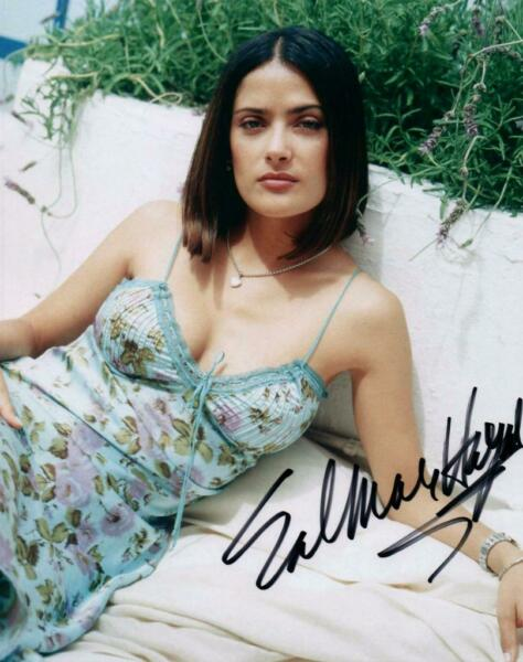 Salma Hayek signed 8x10 Photo pic autographed Picture with COA