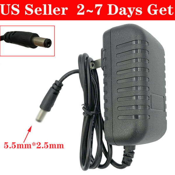 5V 1A2A2.5A3A4A DC Power Supply Charger Adapter IDOD 2.5mm x 5.5mm Center