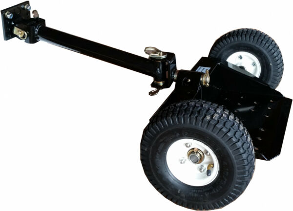 Bradley Mowers Two Wheel Sulky Converts Walk Behind Into Stand On Riding Mower