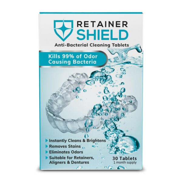 Retainer Shield: Retainer Cleaning Tablets Sample Box - Brite Invisalign Cleaner