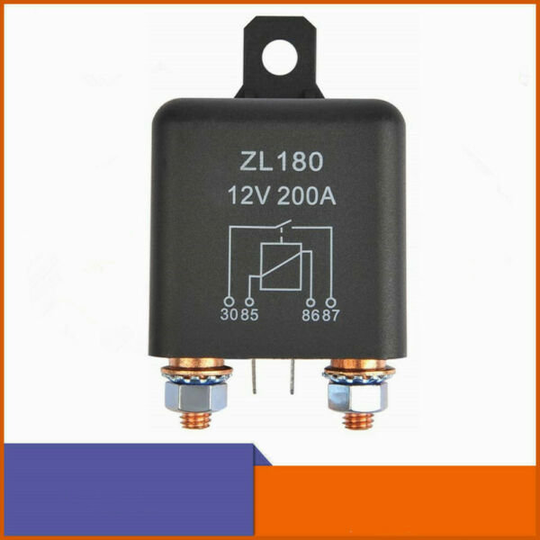 12V 200A Relay ZL180 Car Starter Heavy Duty Split Charge 2 Pin for Car Truck