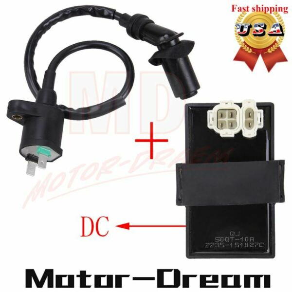 Ignition Coil & DC CDI Box For Honda Foreman 400 450 TRX400 450 FourTrax Foreman