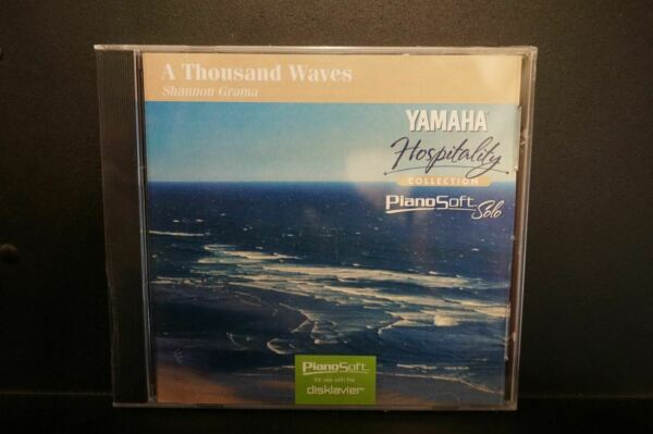 Yamaha Disklavier Piano Soft Solo A Thousand Waves 3.5 inch floppy disk  $29.99