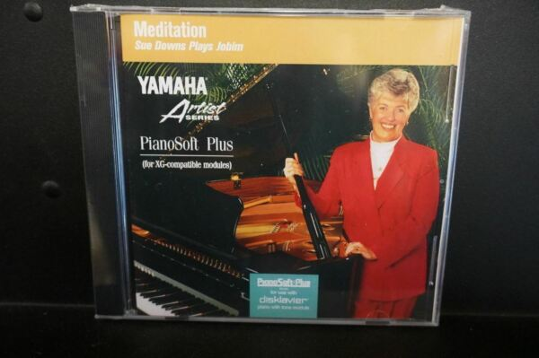 Yamaha Disklavier Artist Series Meditation Piano Soft Plus 3.5 inch floppy Disk  $29.99