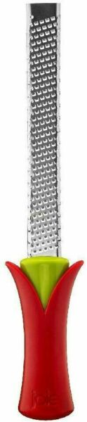 Joie Blossom Stainless Steel Grater Zester Grate Cheese Citrus Lemon Chocolate