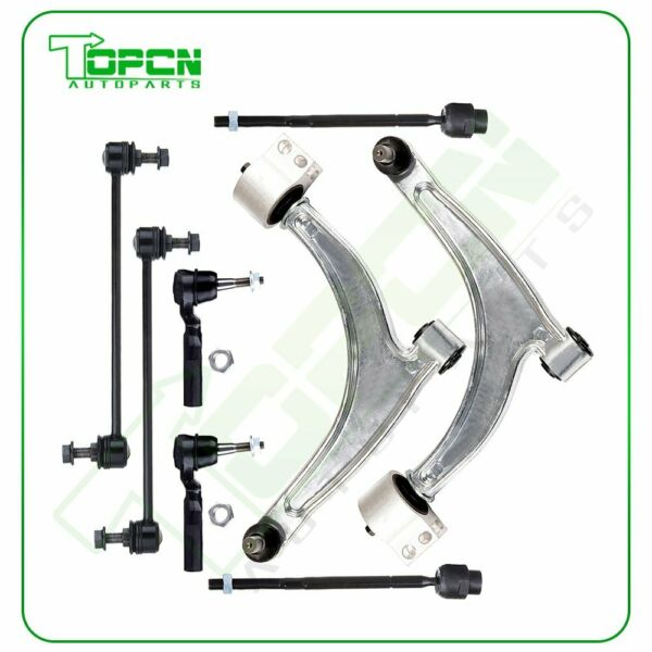 8pcs For 2004-2008 2009 Chevrolet Malibu Front Lower Control Arms Suspension Kit