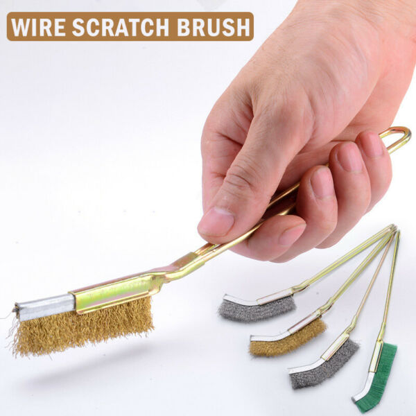 Stainless steel wire brush industrial toothbrush cleaning iron brush