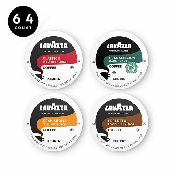 Lavazza Coffee K Cup Pods Variety Pack For Keurig Single Serve Coffee Brewers 6